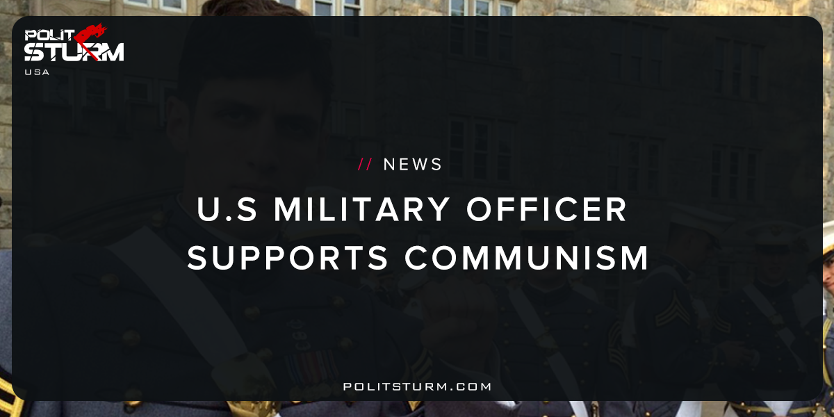 U.S Military Officer Supports Communism