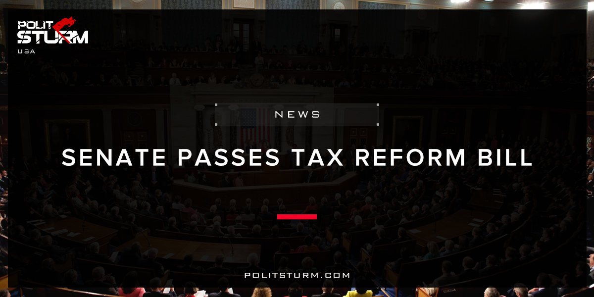 Senate Passes Tax Reform Bill